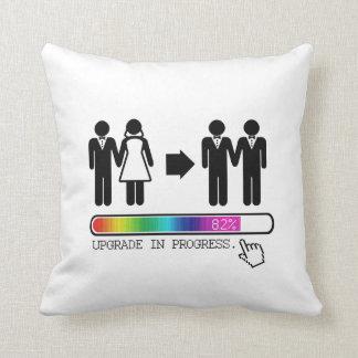 UPGRADE TO GAY CUSHION