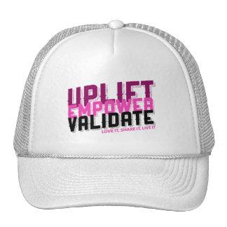 Uplift, Empower, Validate Trucker Style Hat