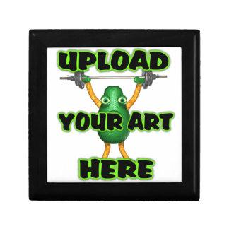 Upload art to gift box
