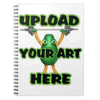 Upload art to notebook
