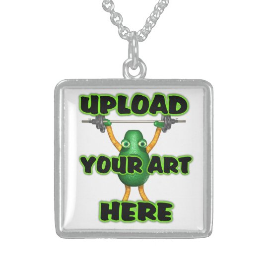 Upload Art to Valxart template Sterling Silver Necklace
