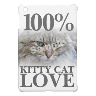 Upload Photo 100% Kitty Cat Love Case For The iPad Mini