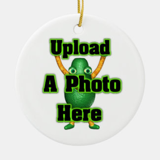 Upload photo to Valxart templates Round Ceramic Decoration