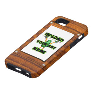 upload to wood illusion border frame iPhone 5 covers
