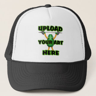 Upload your art on trucker hats by Valxart