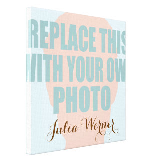 upload your own photo canvas print