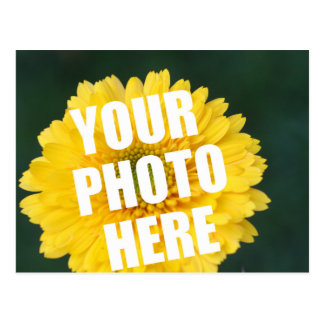 UPLOAD YOUR OWN PHOTO & Create The Perfect Gift Postcard