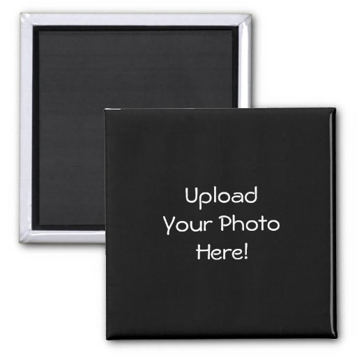 Upload-Your-Own-Photo Square Magnets