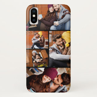 Upload Your Own Photos | Custom Photo Collage iPhone X Case