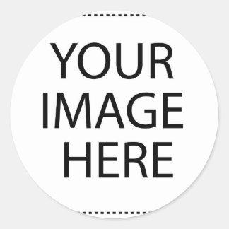 Upload your Own Pictures to make Premium Round Sticker