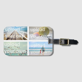 Upload Your Own Travel Photos Luggage Tag