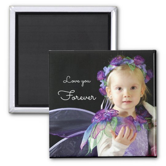 Upload your photo | love you forever magnet