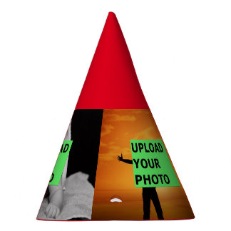 upload your photo party hat