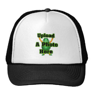 Upload your photo to template by valxart mesh hat