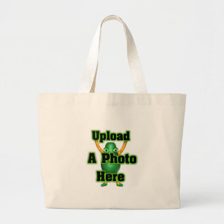 Upload your photo to template products jumbo tote bag
