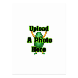 Upload your photo to template products postcard
