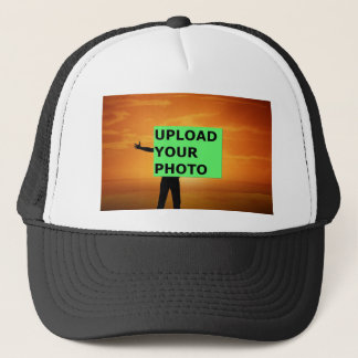 Upload your photo trucker hat