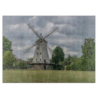 Upminster Windmill glass Cutting Board