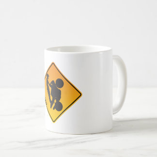 UpOnOne.com Caution Logo Coffee Mug