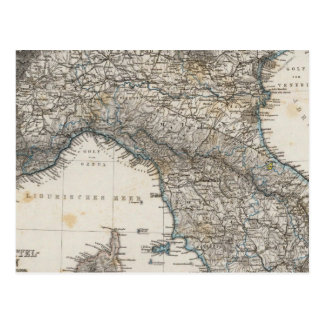 Upper and Central Italy Postcard