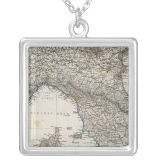 Upper and Central Italy Silver Plated Necklace