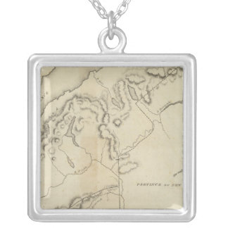 Upper and Lower Canada Silver Plated Necklace