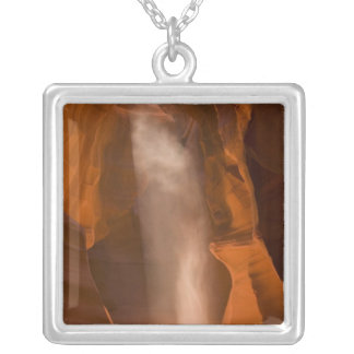 Upper Antelope Canyon, Page, Arizona 2 Silver Plated Necklace