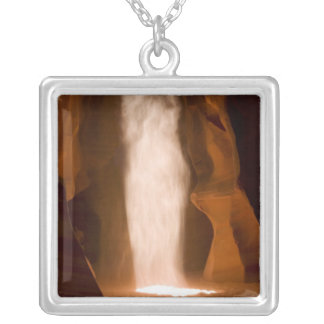 Upper Antelope Canyon, Page, Arizona Silver Plated Necklace