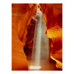 Upper Antelope Canyon Poster