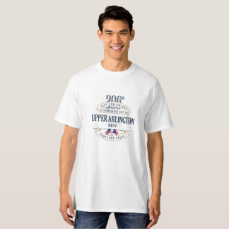Upper Arlington, Ohio 200th Anniv. White T-Shirt