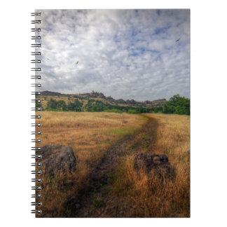 Upper Bidwell Park, Chico, CA Note Book