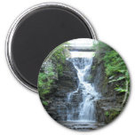 Upper Buttermilk Falls Ithaca, NY 6 Cm Round Magnet