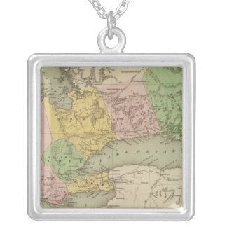 Upper Canada 2 Silver Plated Necklace