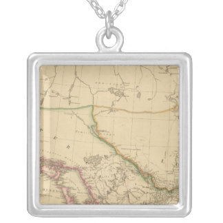 Upper Canada 3 Silver Plated Necklace
