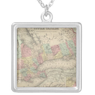 Upper Canada Silver Plated Necklace