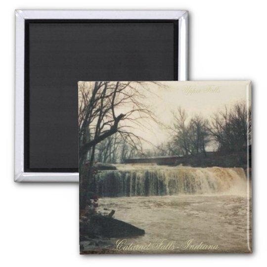 Upper Cataract Falls-Full Flow Square Magnet