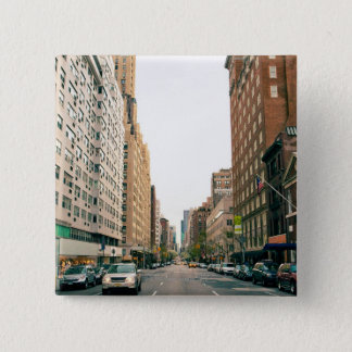 Upper East Side 15 Cm Square Badge