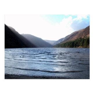 Upper Lake, Glendalough, Ireland (big) Postcard