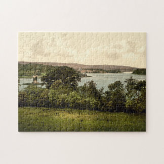 Upper Lough Erne, Co Fermanagh, Northern Ireland Jigsaw Puzzle