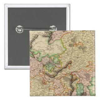 Upper, Lower Rhine 15 Cm Square Badge