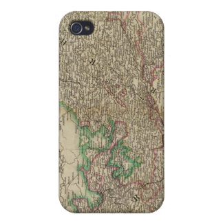 Upper, Lower Rhine circles iPhone 4/4S Covers