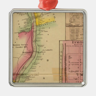 Upper Ohio River and Valley 10 Christmas Ornament