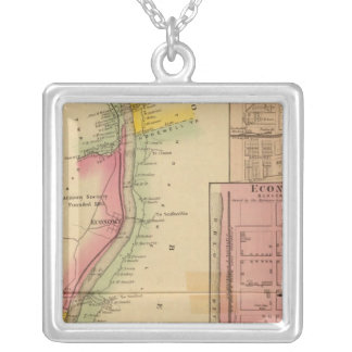 Upper Ohio River and Valley 10 Silver Plated Necklace