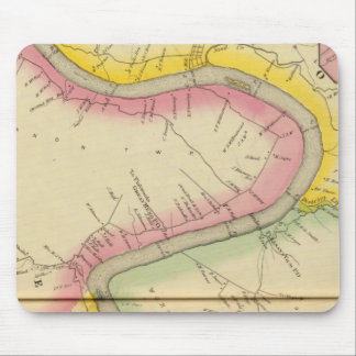 Upper Ohio River and Valley 11 Mouse Mat