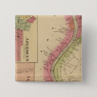 Upper Ohio River and Valley 2 15 Cm Square Badge