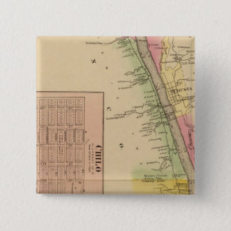 Upper Ohio River and Valley 4 15 Cm Square Badge