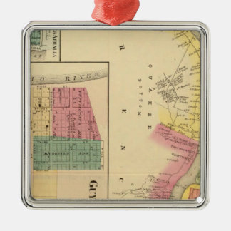 Upper Ohio River and Valley 4 Christmas Ornament
