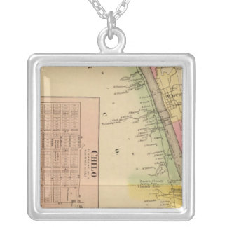 Upper Ohio River and Valley 4 Silver Plated Necklace