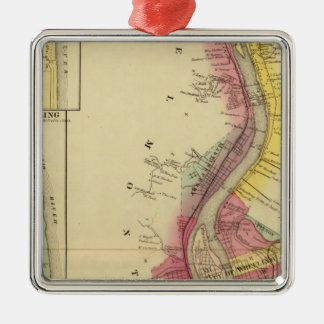 Upper Ohio River and Valley 5 Christmas Ornament