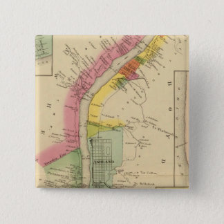 Upper Ohio River and Valley 6 15 Cm Square Badge
